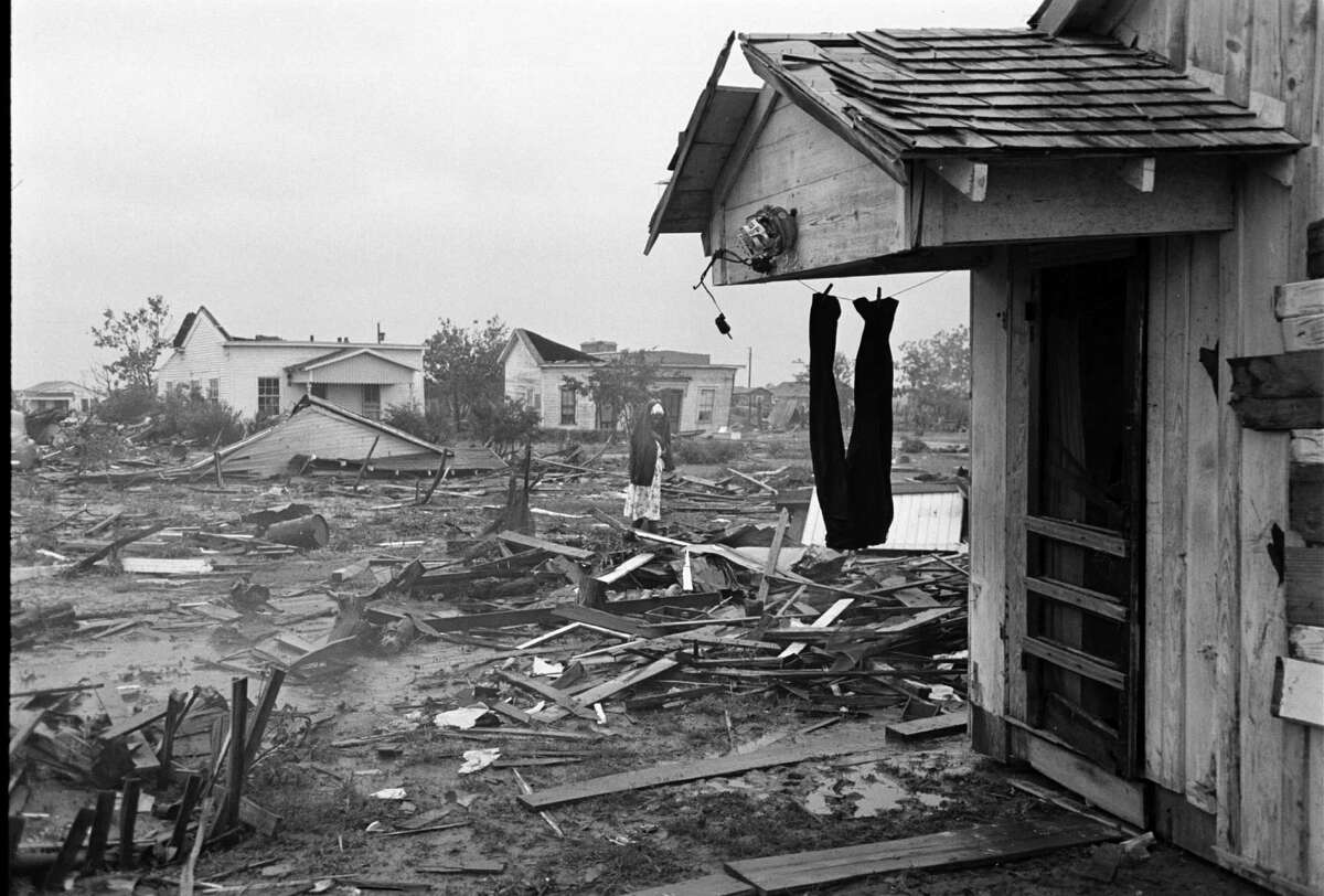 Scene of destruction in Waco, Texas, after an F5 tornado hit the city.