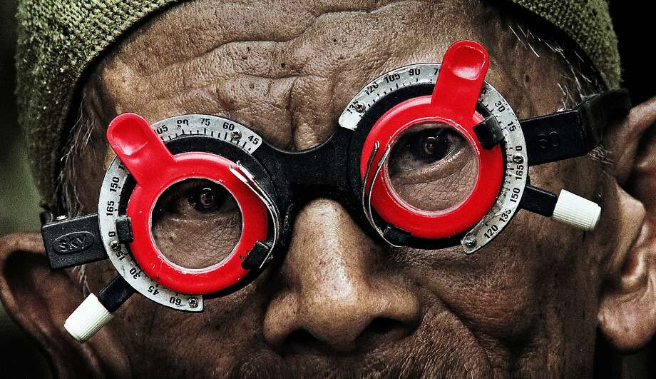 """""""Look of Silence."""" The Look of Silence is Joshua Oppenheimer's powerful companion piece to the Oscar-nominated The Act of Killing. Through Oppenheimer's footage of perpetrators of the 1965 Indonesian genocide, a family of survivors discovers how their son was murdered, as well as the identities of the killers. (from the I-SEA website) Photo: Courtesy I-SEAFF"""