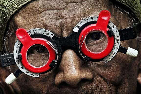 """Look of Silence."" The Look of Silence is Joshua Oppenheimer's powerful companion piece to the Oscar-nominated The Act of Killing. Through Oppenheimer's footage of perpetrators of the 1965 Indonesian genocide, a family of survivors discovers how their son was murdered, as well as the identities of the killers. (from the I-SEA website)"