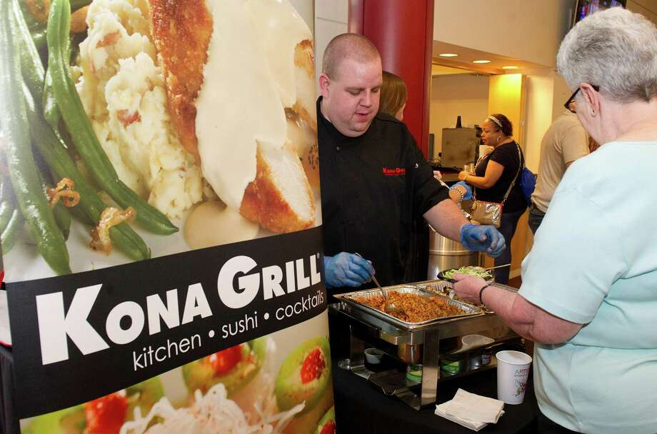"The Kona Grill in downtown Stamford will host the Muscular Dystrophy Association's ""lock-up"" fundraiser on Thursday. Photo: Lindsay Perry / Hearst Connecticut Media / Stamford Advocate"