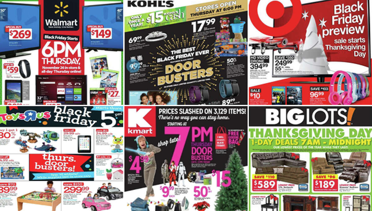 Black Friday Newspaper Ad Covers Check out what some of the nation's biggest retailers will be offering this Black Friday. For more deals, check out our Find N Save Black Friday page ...