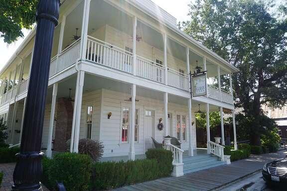 The historic Tallman Hotel, Upper Lake.