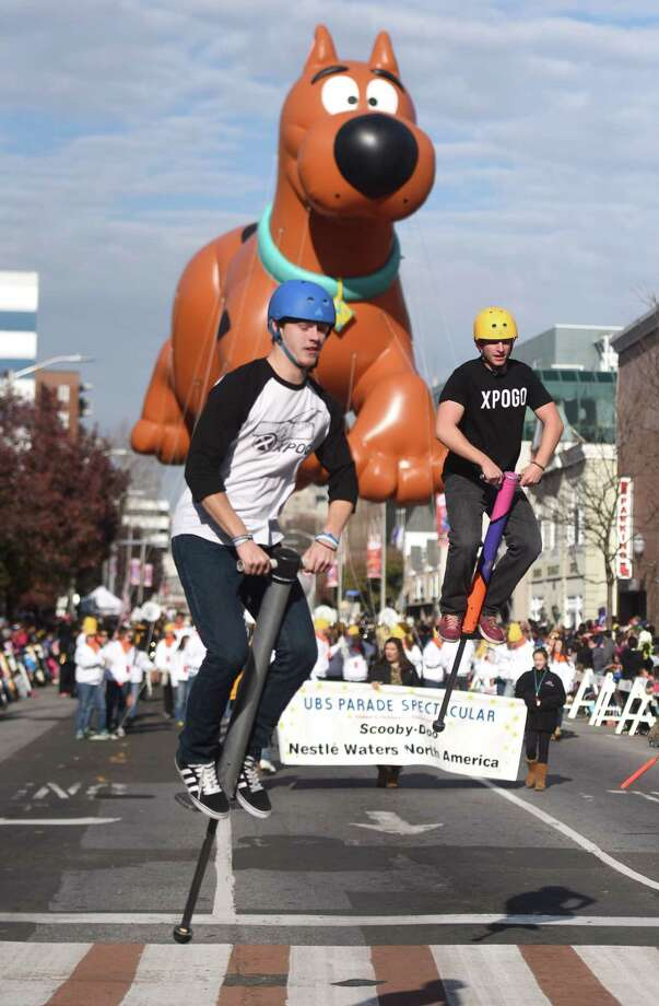 The 22nd annual UBS Parade Spectacular in Stamford kicks off at noon Sunday. Photo: Tyler Sizemore / Hearst Connecticut Media / Greenwich Time