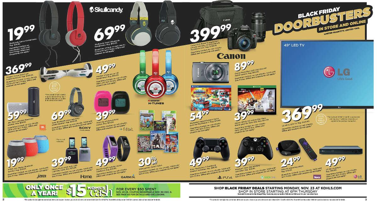 Kohl's Black Friday Ad - 2015 (Closer Look)