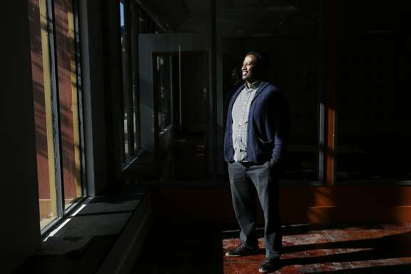 Executive Director Mohammed Soriano Bilal pictured in the African American Art & Culture Complex Nov. 17, 2015 in San Francisco, Calif.