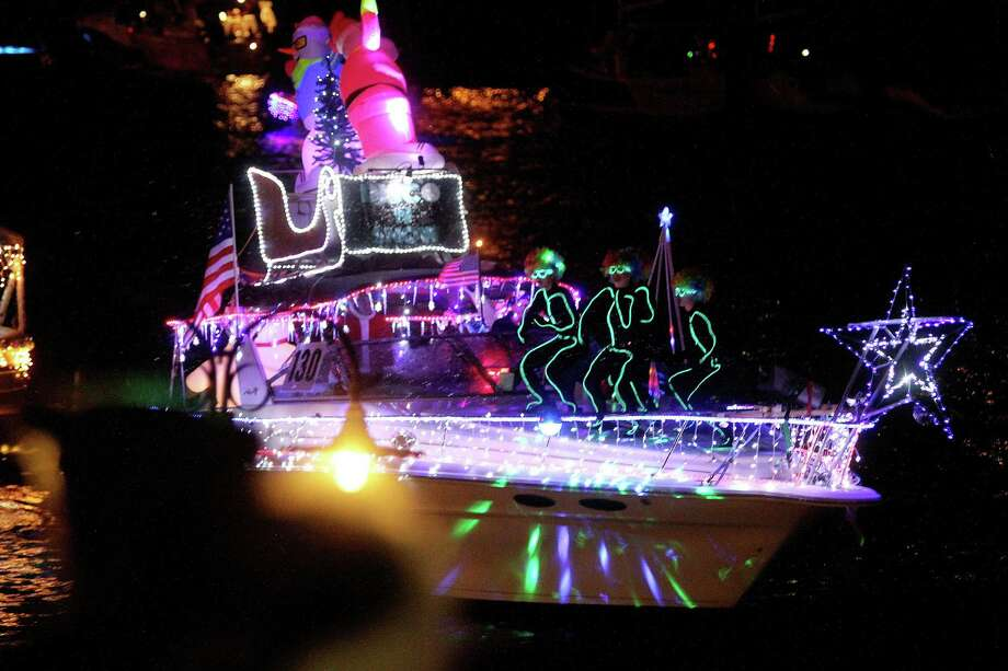 the christmas boat lane parade on dec 12 will feature more than 100 decorated boats - Bay Area Christmas Events