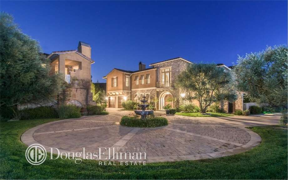 "The 6 bedroom, 7 bath, 7,768-square-foot estate sits on more than three acres of land within the ""extremely rare and private compound in the illustrious Mureau Estates gated community of Calabasas,"" the site said. Photo: Provided By Zillow"