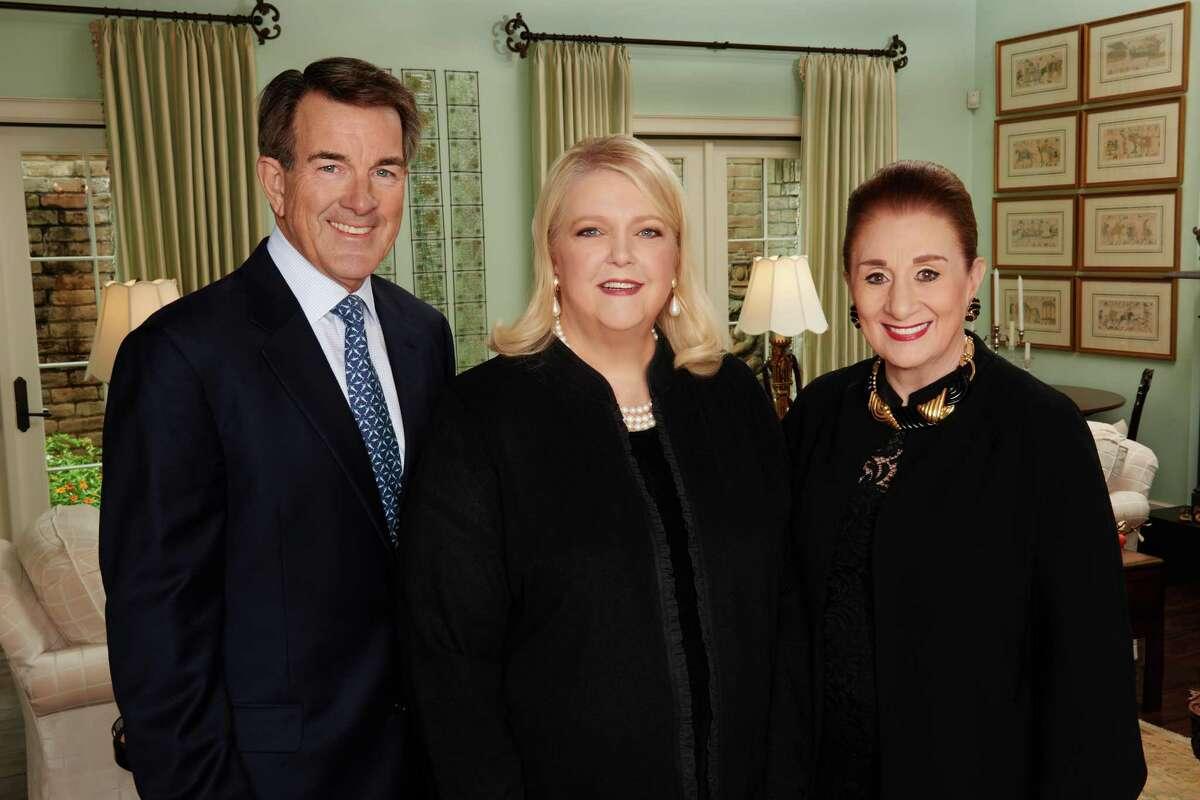 from left: Tom Anderson, Marilyn Thompson, Martha Turner (Courtesy of Martha Turner Properties Sotheby's International Realty)