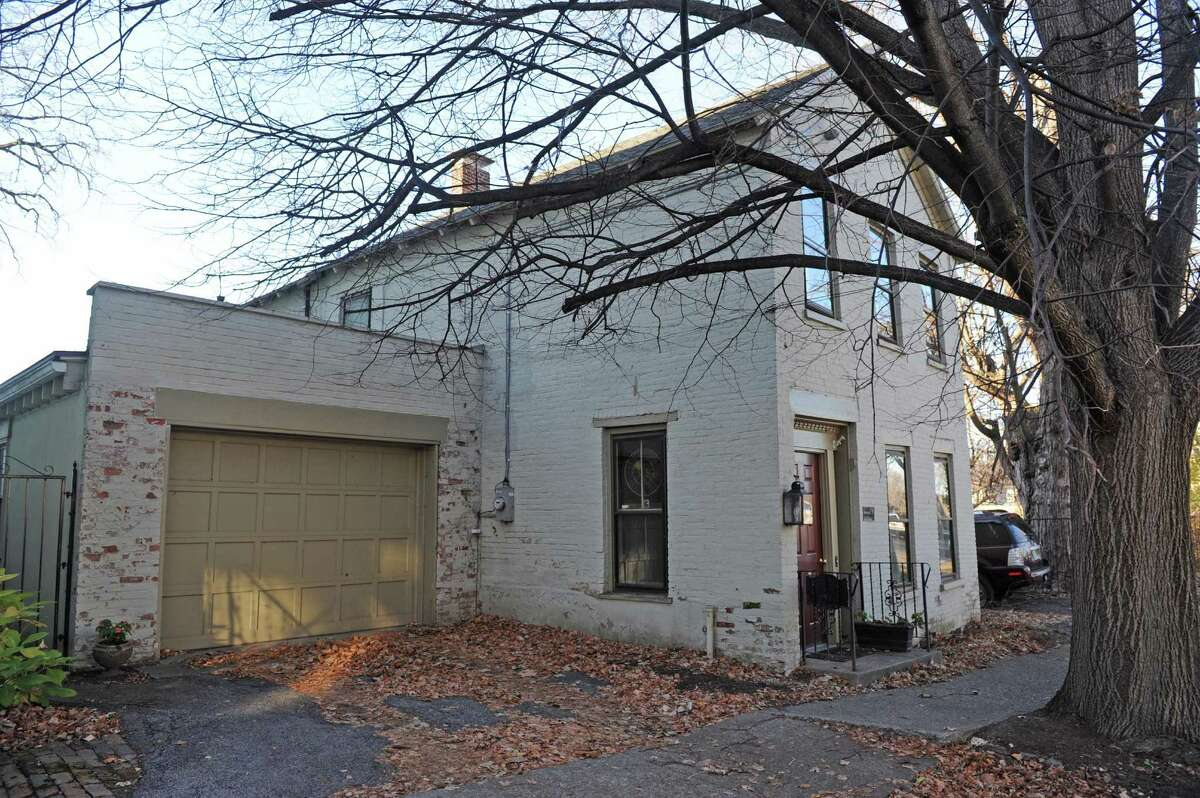 4 Washington Avenue in the Stockade neighborhood on Tuesday Nov.17, 2015 in Schenectady, N.Y. (Michael P. Farrell/Times Union)