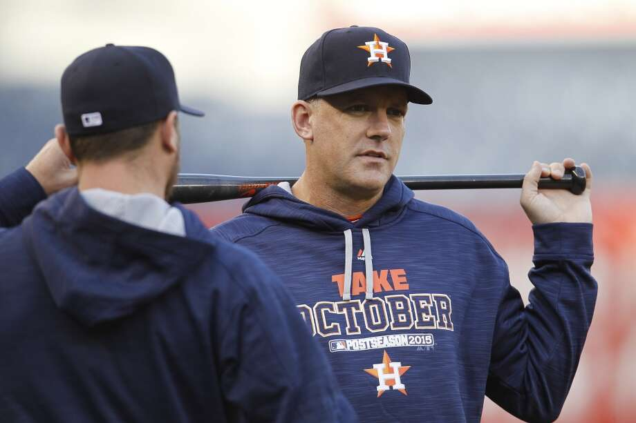A playoff appearance has raised expectations for A.J. Hinch and the Astros.