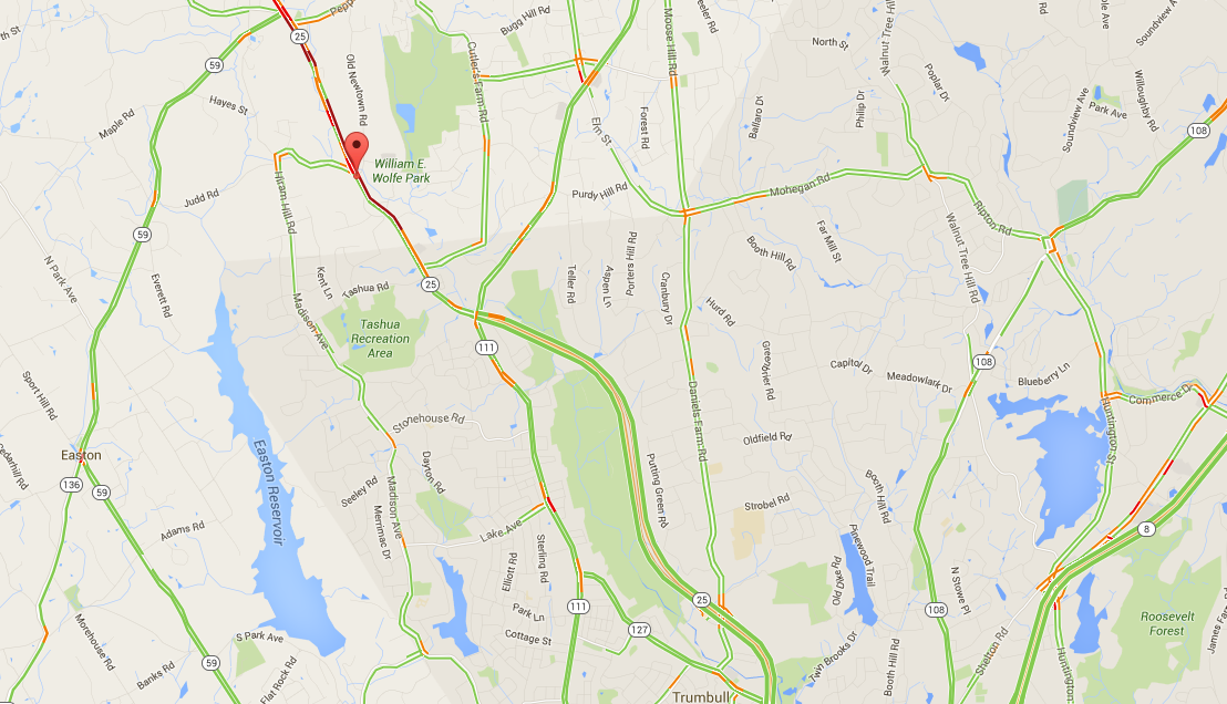 UPDATE: Accident Snarls Traffic on Route 25 - Monroe, CT Patch