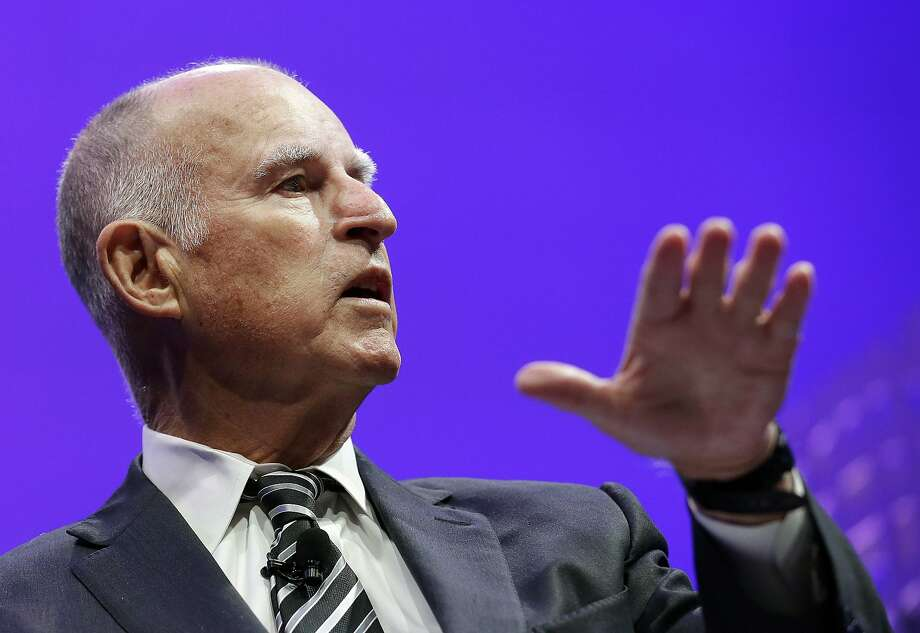 """Gov. Jerry Brown says the decision by the CalPERS board was """"irresponsible"""" and """"unrealistic."""" Photo: Jeff Chiu, Associated Press"""