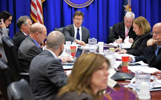 Daniel Horwitz, center, chairs a meeting of the New York State Joint Commission on Public Ethics meets Tuesday Nov. 17, 2015 in Albany, NY.  (John Carl D'Annibale / Times Union) Photo: John Carl D'Annibale / 10033655A