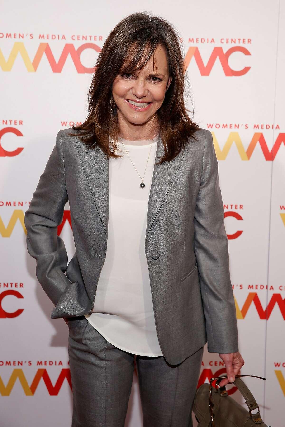 NEW YORK, NY - NOVEMBER 05: Actress Sally Field attends The Women's Media Center 2015 Women's Media Awards on November 5, 2015 in New York City. (Photo by Brian Ach/Getty Images for The Women's Media Center)
