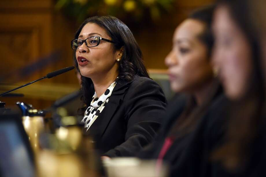 Supervisor London Breed speaks about diversity in affordable housing during a board of supervisors meeting at City Hall in San Francisco, CA Tuesday, November 17 2015. Photo: Michael Short, Special To The Chronicle
