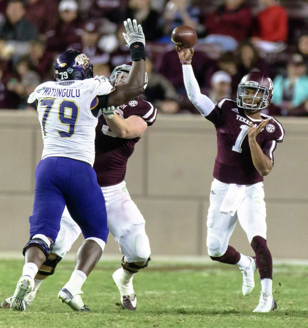 A&M wanted to see how Kyler Murray fared as more of a pocket passer than a scrambler against Western Carolina, and the results were mixed.