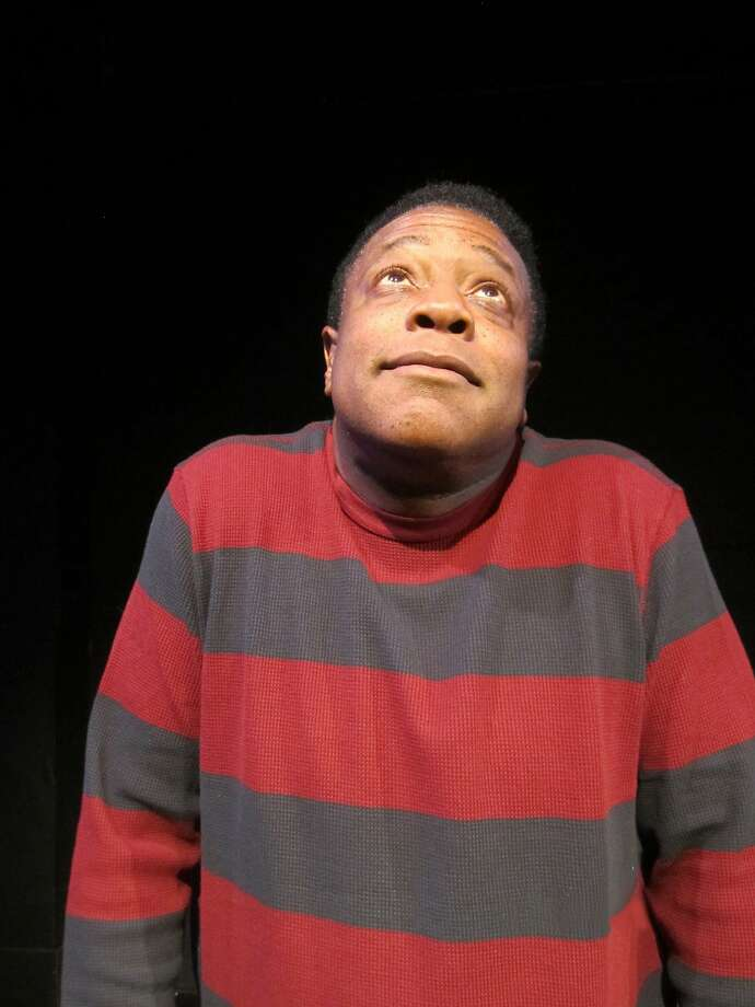 "Brian Copeland as his child self in his solo ""The Jewelry Box"" at the Marsh. Photo: Patti Meyer"
