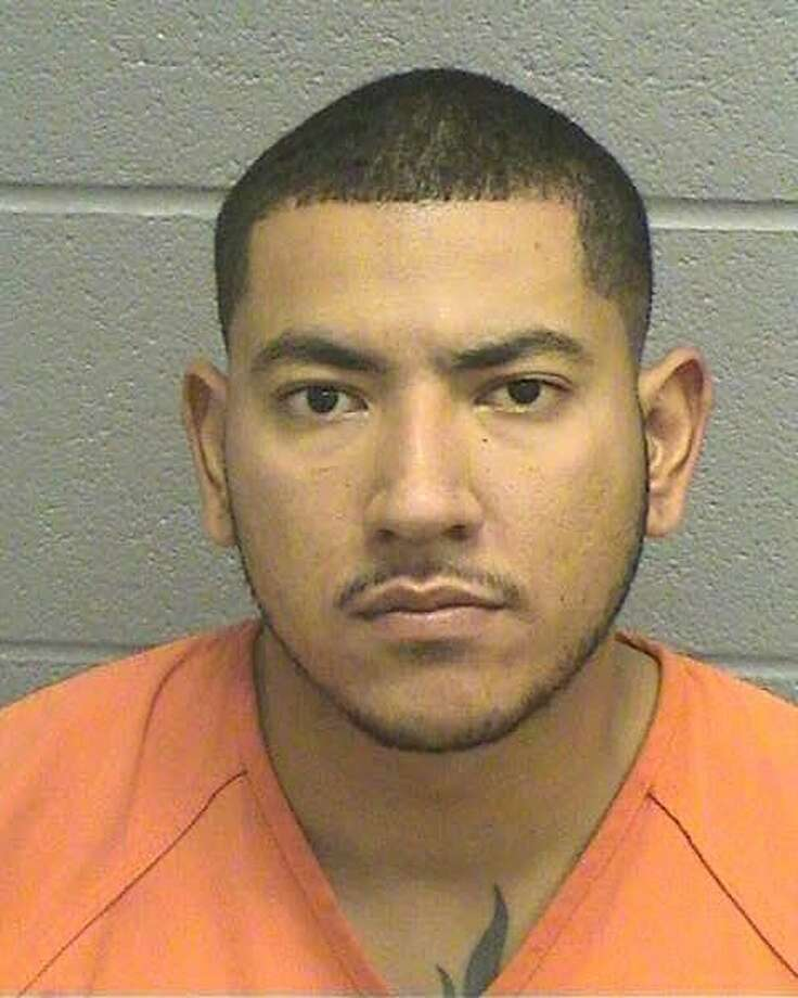 Robinson Pinilla-Bolivar, a 24-year-old Midland man, was being held Monday on a $25,000 bond for a second-degree felony charge of aggravated assault with a deadly weapon.