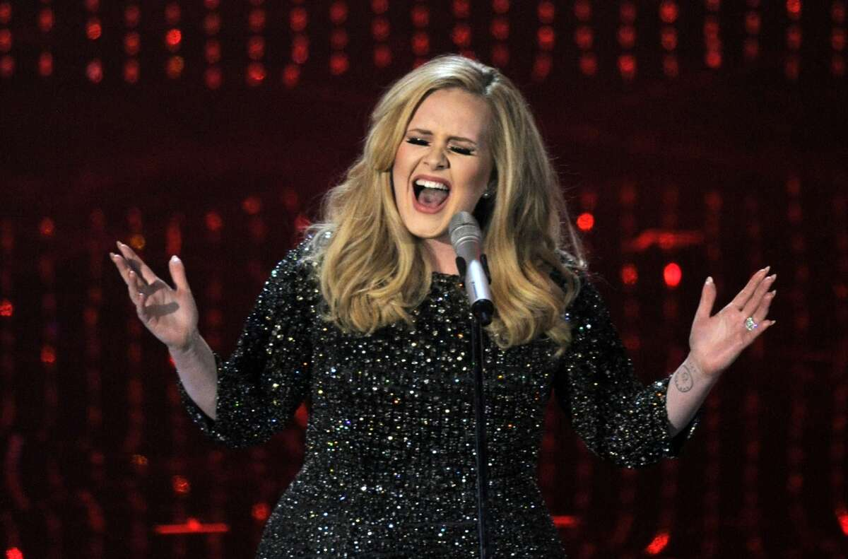 Adele (singer-songwriter) Current results: 2 percent