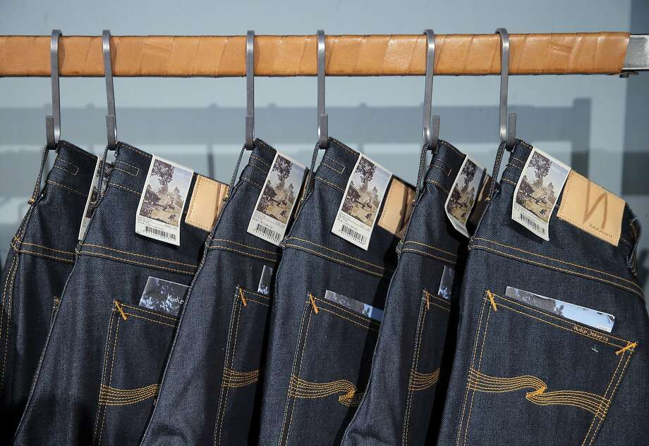 Nudie Jeans displayed at the Azalea store on Hayes Street in San Francisco, Calif., on Tuesday, November 17, 2015. Photo: Carlos Avila Gonzalez, The Chronicle