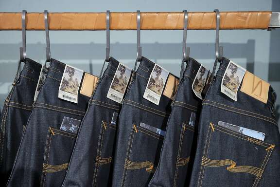 Nudie Jeans displayed at the Azalea store on Hayes Street in San Francisco, Calif., on Tuesday, November 17, 2015.