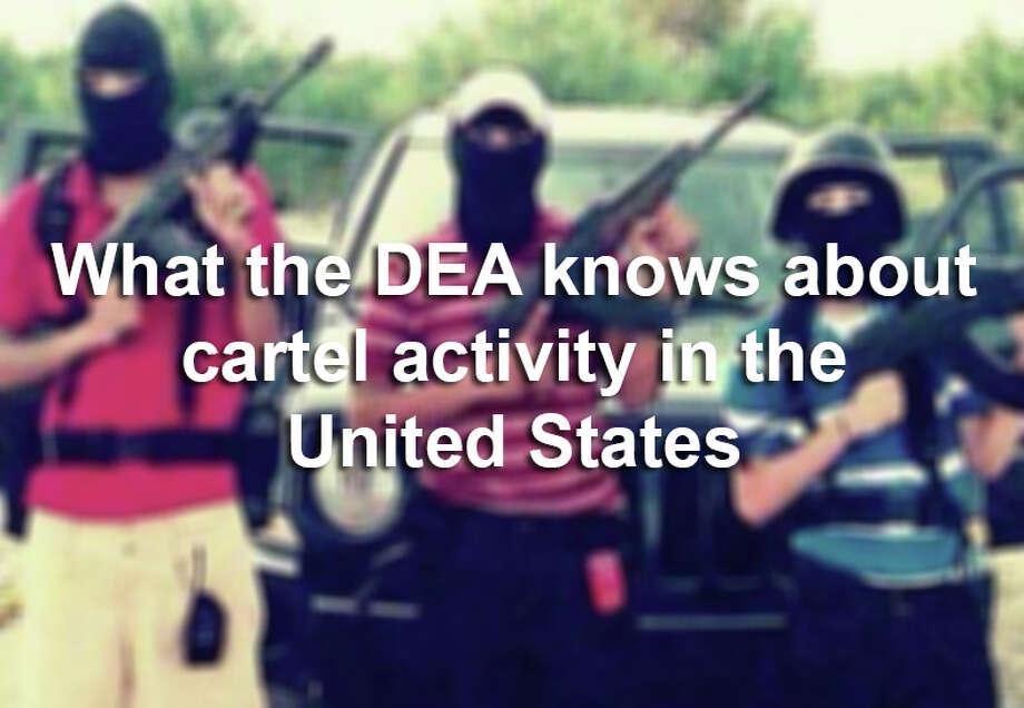 Scroll through the slideshow for 10 facts about Mexican drug cartels' stateside activity, according to a recently declassified DEA report.