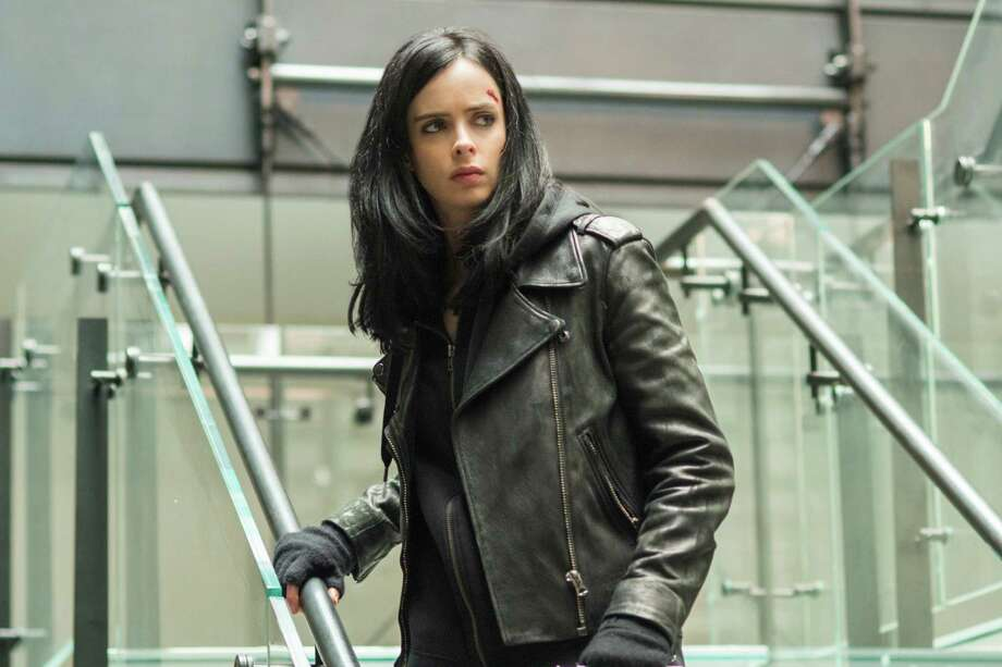 "Krysten Ritter stars in the Netflix original series ""Marvel's Jessica Jones."" Photo:  Myles Aronowitz"