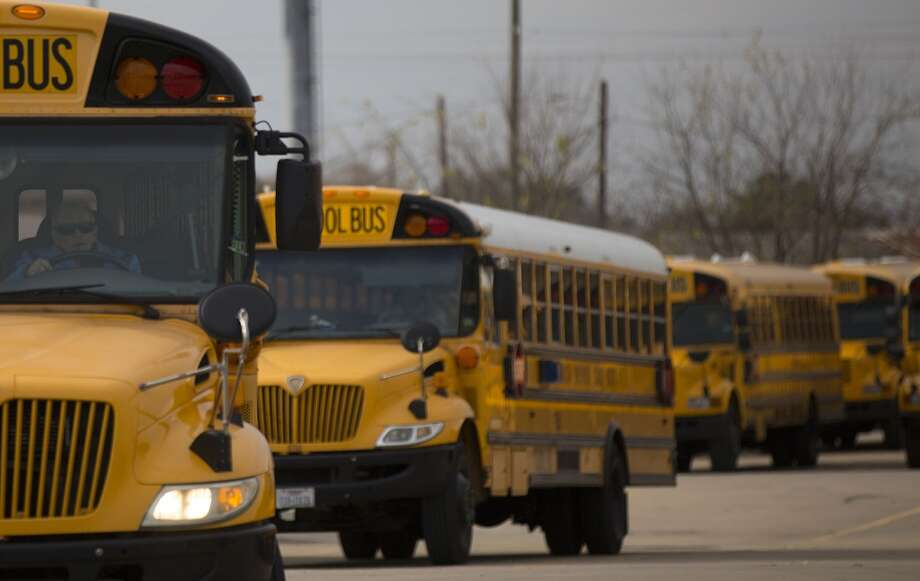 Authorities are seeking children who were possibly molested on an HISD school bus. Photo: Johnny Hanson, Houston Chronicle