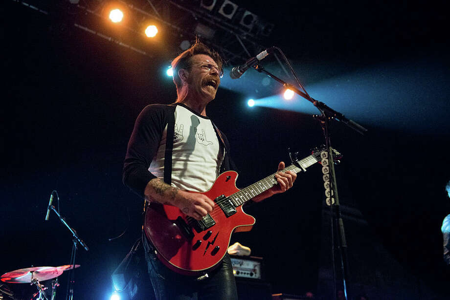 Jesse Hughes of Eagles Of Death Metal performs at O2 ABC Glasgow on November 11, 2015 in Glasgow, Scotland. Photo: Ross Gilmore, Getty  / 2015 Ross Gilmore