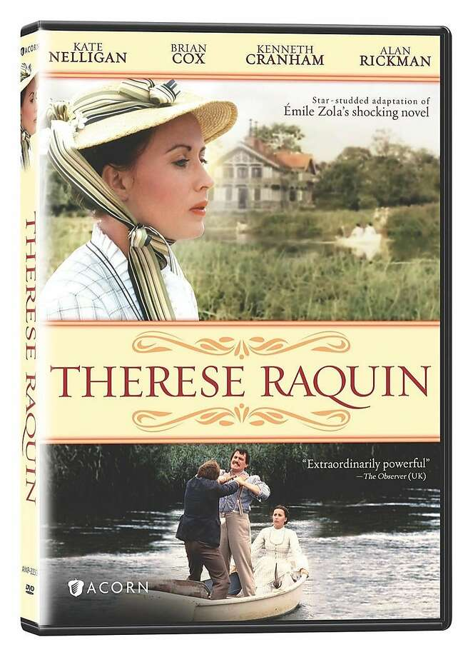 """DVD cover: """"Therese Raquin"""" Photo: Acorn"""