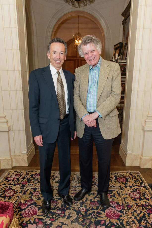 Rick Walker and Gordon Getty Photo: Drew Altizer Photography / © 2015 Drew Altizer Photography