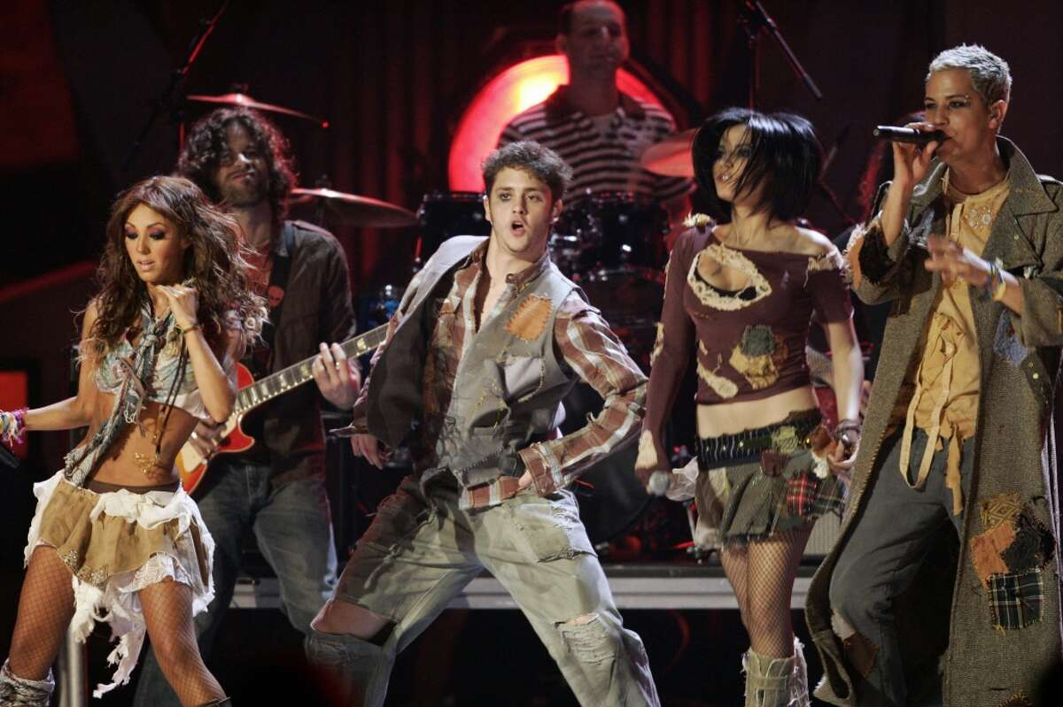 #2. RBD perform during the 7th Annual Latin Grammy Awards at Madison Square Garden
