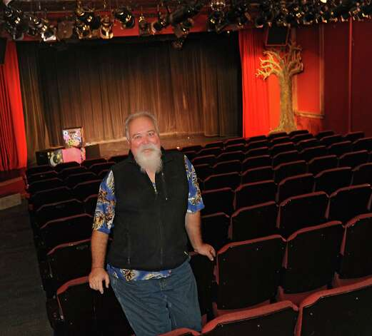 Ric Chesser, the founder and executive director of Steamer 10, stands inside of the Steamer 10 Theatre on Thursday, Nov. 12, 2015 in Albany, N.Y.  (Lori Van Buren / Times Union) Photo: Lori Van Buren / 00034193A