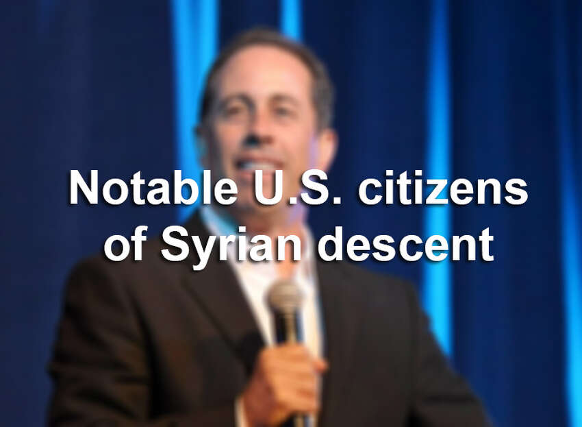 Scroll through the slideshow to see noteworthy U.S. citizens of Syrian descent.