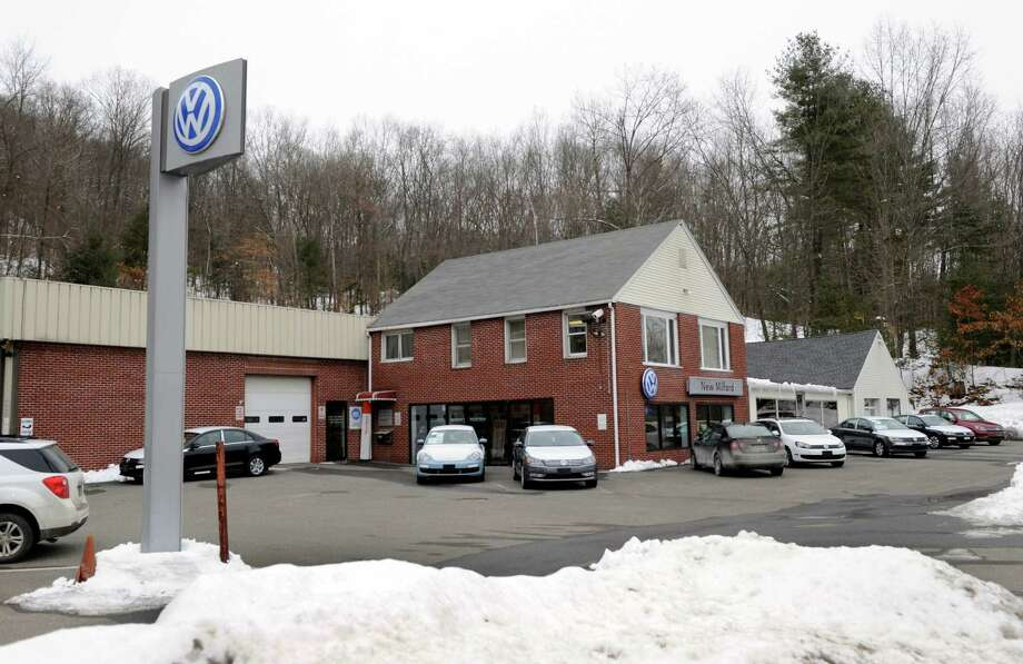 New Milford Volkswagen, at 469 Litchfield Rd. in New Milford, Conn. prior to going out of business in the spring. Photo Tuesday, March 3, 2015. Photo: Carol Kaliff / Carol Kaliff / The News-Times