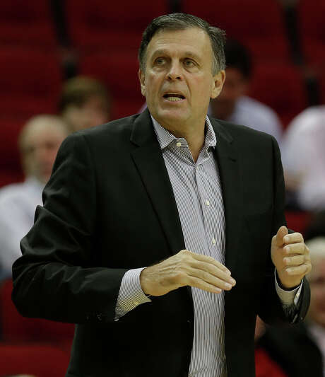Houston Rockets coach Kevin McHale is shown during the first half of NBA game against the Boston Celtics at Toyota Center Monday, Nov. 16, 2015, in Houston. ( Melissa Phillip  / Houston Chronicle ) Photo: Melissa Phillip, Staff / © 2015 Houston Chronicle