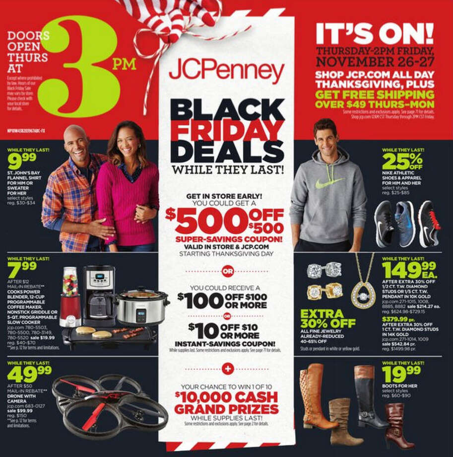 JC Penney Black Friday Ads - 2015 (More Black Friday Deals from Find & Save)  Photo: JC Penney