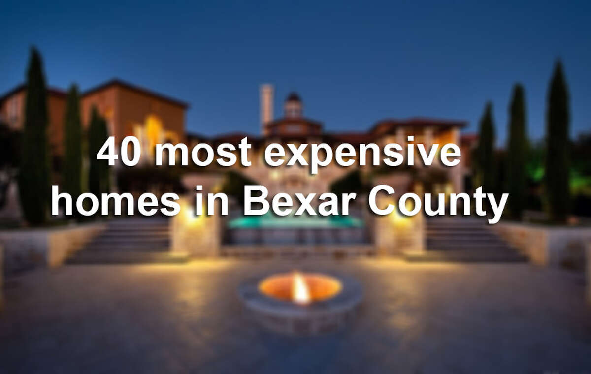 Click through the gallery to see the most expensive homes in San Antonio.
