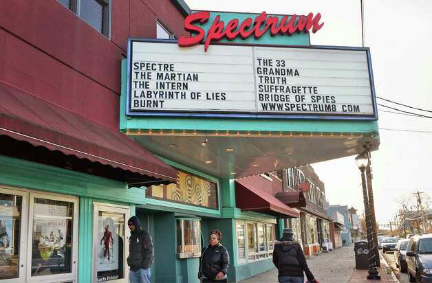 The Spectrum Theater on Delaware Avenue Wednesday Nov. 18, 2015 in Albany, NY.  (John Carl D'Annibale / Times Union) Photo: John Carl D'Annibale