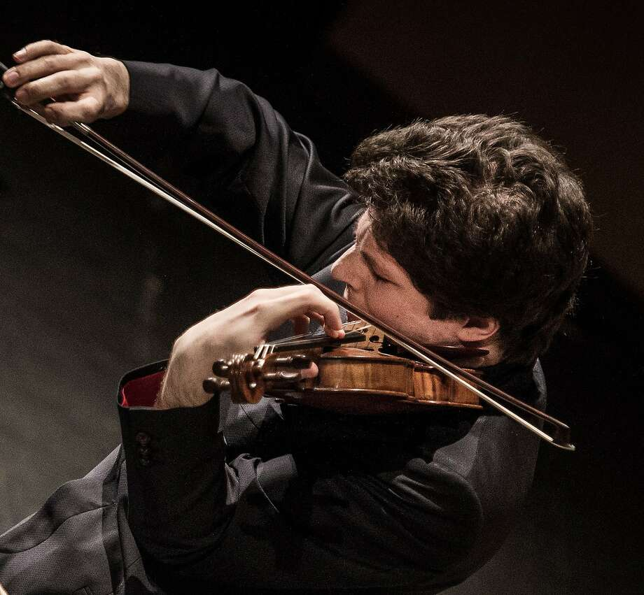 Augustin Hadelich will play with the Orpheus Chamber Orchestra. Photo: Green Music Center
