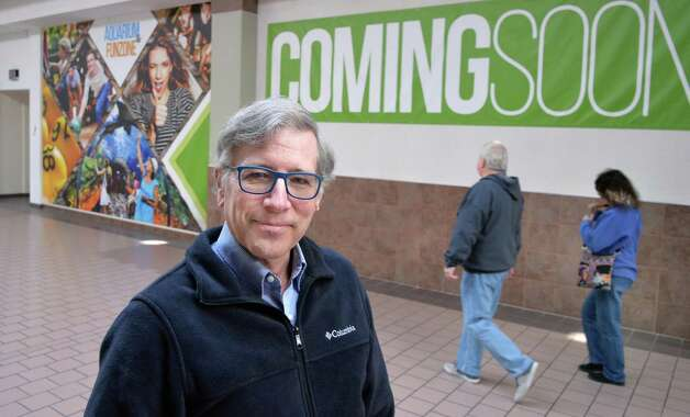 Marine biologist David Gross, the newly named director of the aquarium to be built inside Rotterdam Square Mall in the mall Wednesday Nov. 18, 2015 in Rotterdam, NY.  (John Carl D'Annibale / Times Union) Photo: John Carl D'Annibale / 10034319A