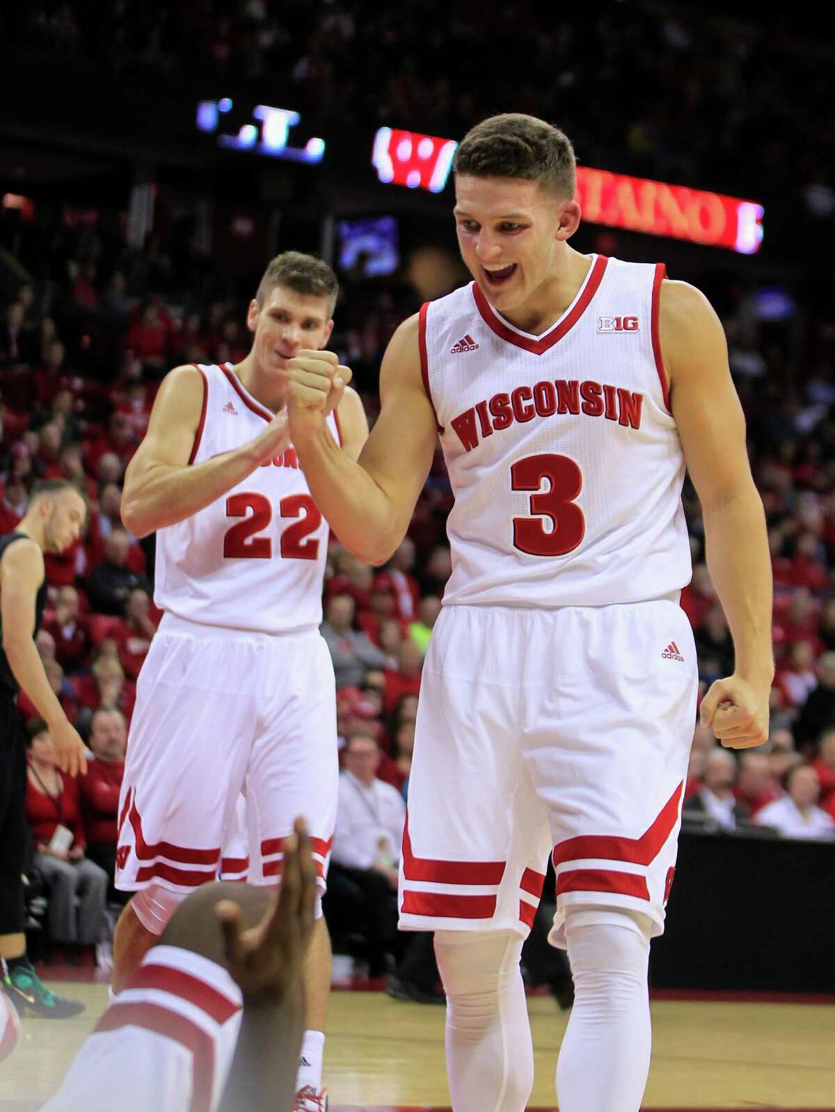 Top four upsets The season started last week, and several of the top teams were surprised in games that were considered easy wins. 1. Then No. 17 Wisconsin, which played in last season's Final Four, lost on opening night to Western Illinois 69-67. The loss dropped the Badgers out of the rankings.