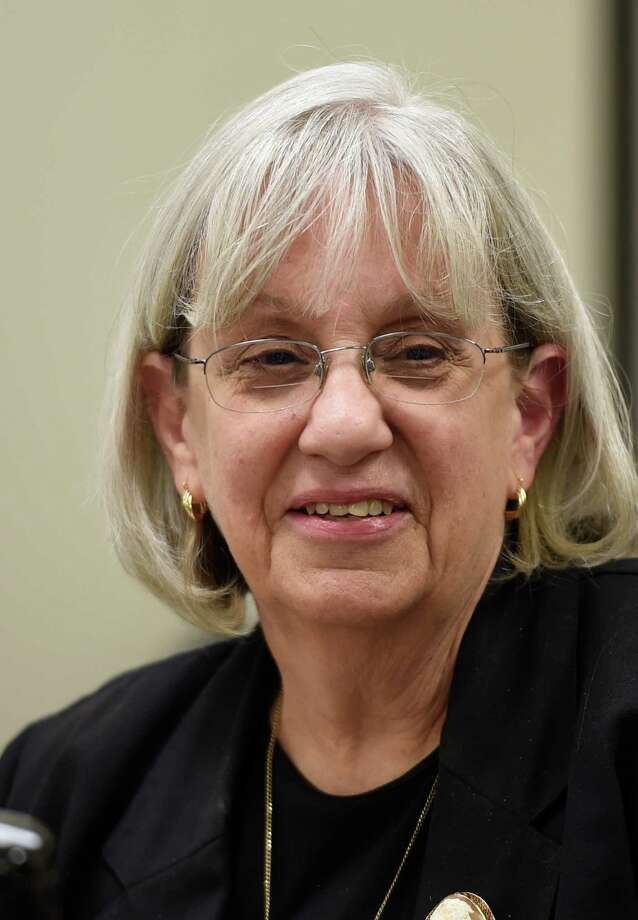 Risa Sugarman, enforcement council for the New York State Board of Elections during the board meeting today Sept. 26, 2014 at their offices in Albany, N.Y.       (Skip Dickstein/Times Union) Photo: SKIP DICKSTEIN / 00028774A