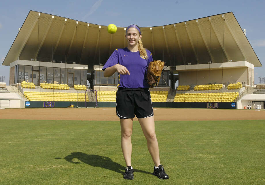 Oxford native and former Masuk star Rachele Fico is already excelling as a member of the LSU softball team. She's In 19 appearances, Fico has an 11-2 record with three saves and a 0.73 ERA over 76 1/3 innings. Photo: Photo Courtesy Of LSU