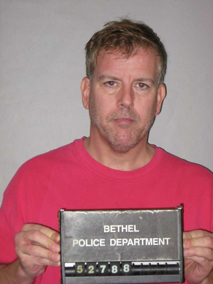 Randall Krizan, 49, of Deepwood Drive, Bethel, was charged Wednesday with driving under the influence of alcohol and/or drugs, risk of injury to a minor, evading responsibility, unsafe backing and failure to obey a stop sign. Photo: Contributed / Bethel Police Department