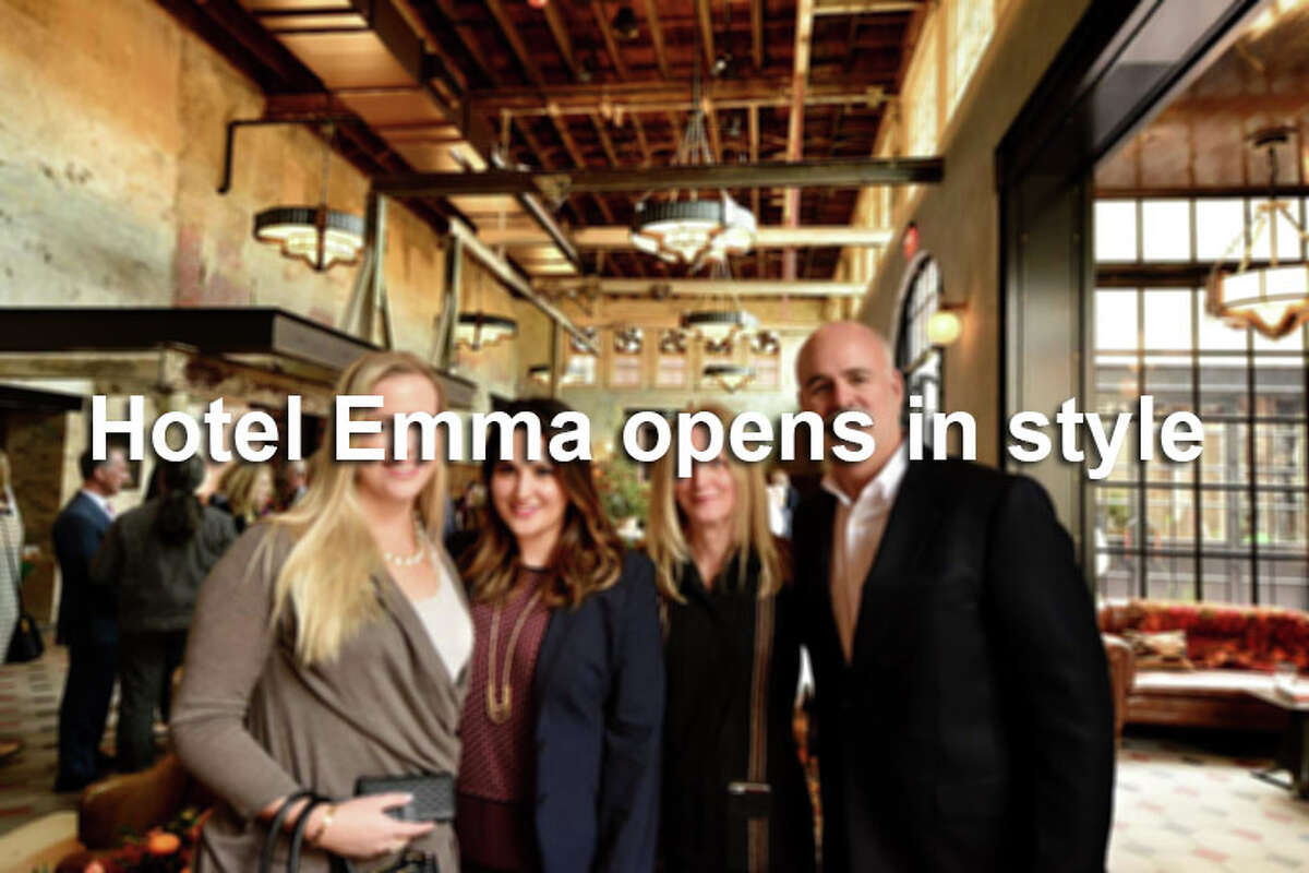 The Pearl's Hotel Emma, one of San Antonio's newest luxury hotels, officially opened its doors with a grand celebration on November 12, 2015.