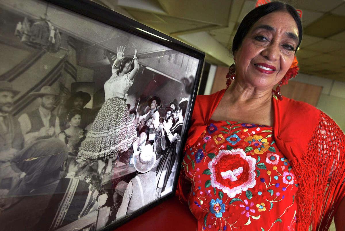Flamenco dance master Teresa Champion