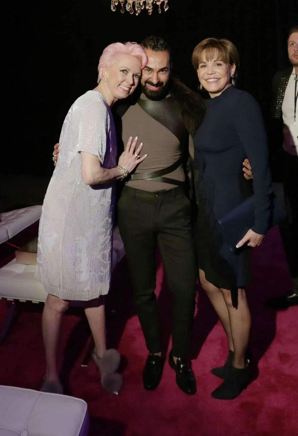 Vivian Wise, Fady Armanious and Hallie Vanderhider