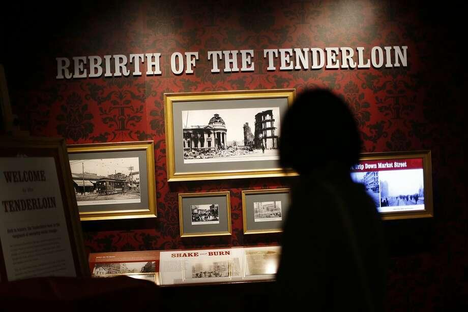 The Tenderloin Museum during a Progressive party in the Tenderloin in San Francisco on Nov. 18, 2015. Photo: Scott Strazzante, The Chronicle