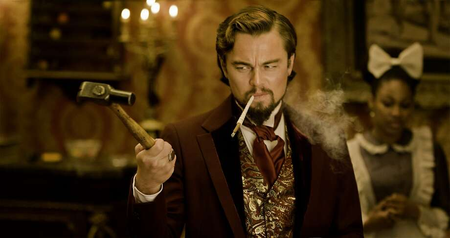 "Leonardo DiCaprio in Quentin Tarantino's ""Django Unchained"": A great film. Photo: Andrew Cooper SMPSP, Associated Press"